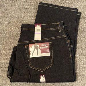 GV Amanda dark wash stretch jeans